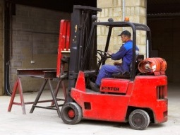Fork lift facilities may be available