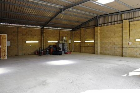 Our larger workshop units with ample floor space